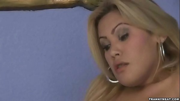 She has big hot shemale tits and a big dick